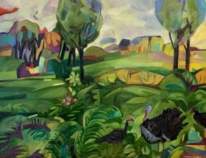 Gabriola Turkeys